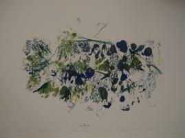 monotipe oil,ink,pencil/paper 20 x 30 cm.