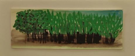 y de repente un bosque verde