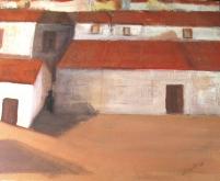 serie I acrylic7canvas 46 x 55 cm. S O L 2007