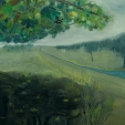 oil/ canvas 90 x90 cm. 2010