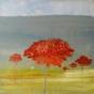 besos que acarician mixed media/canvas 40 x40 cm. 2009 185 euros