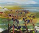Técnica mixta/lienzo, mixed media/canvas 100 x 81 cm. S O L-2011