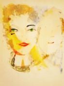 acrílico/cartón pluma 50 x 40 cm. S O L -2013