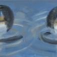 acrylic/canvas 15 x 30 cm 2009