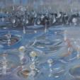 acrylic/canvas 46 x 61 cm 2009