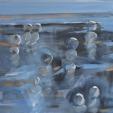 acrylic/canvas 40 x 40 cm 2009