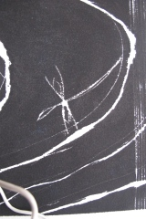 grabado/DETAIL tinta/papel de arroz 50 x 30 cm S O L 2014
