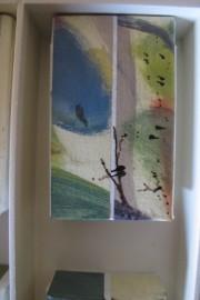 """piezas pintadas en la composición de """"soniditos"""""""