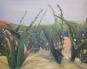 serie I, acrylic/wood 90 x 100 cm. 2009