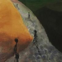 serie I, acrilic/canvas 40 x 30 cm.