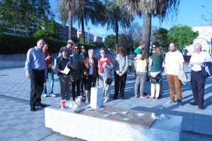 Canta la fuente en Janes walk, 4 may
