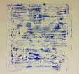 Grabado acrílico/papel 15 x 15 cm. S O L -2015