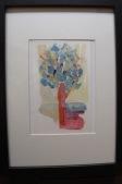 acuarela, tinta/papel 12 x 8 cm S O L 2012