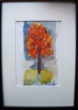 acuarelas, tinta/papel canson 12 x 8 cm S O L 2012
