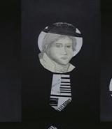 técnica mixta collage/corcho y madera. 10 x 25 cm.
